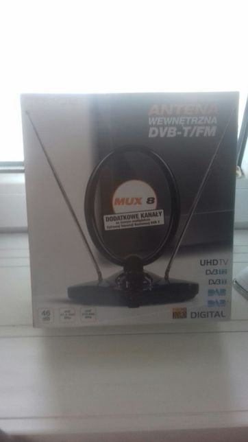 Antena wewnętrzna DVB-T/FM