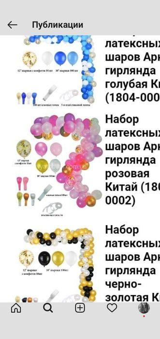 Набор воздушных шаров Херсон - изображение 1