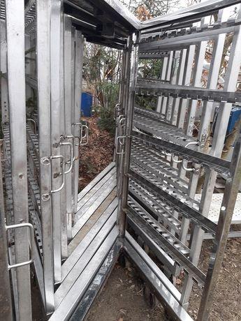 Wózki wędzarnicze masarskie do wedzenia kilka sztuk