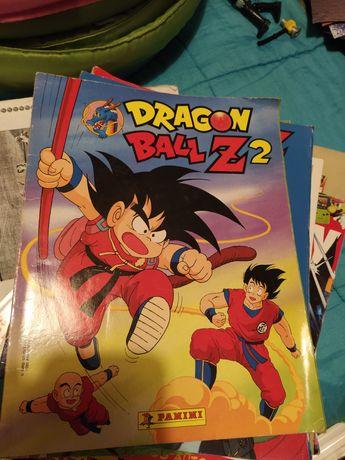 Dragon ball, cassete e caderneta