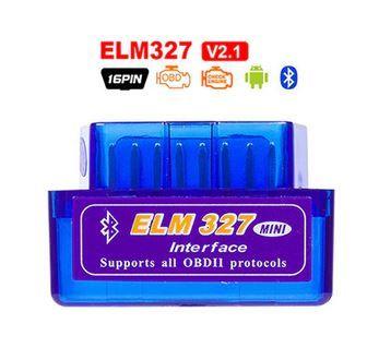 *Ficha OBD 2 bluetooth ELM327 Mini Bluetooth diagnóstico auto OBD2*