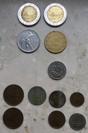Sprzedam stare i obecne zagraniczne monety różne kraje