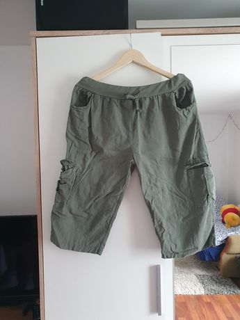 Spodnie lniane Xl
