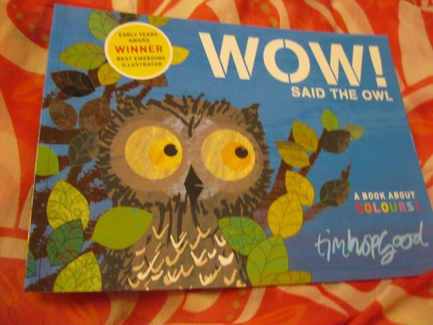 сказка детская на английском книга wow said the owl про сова филин