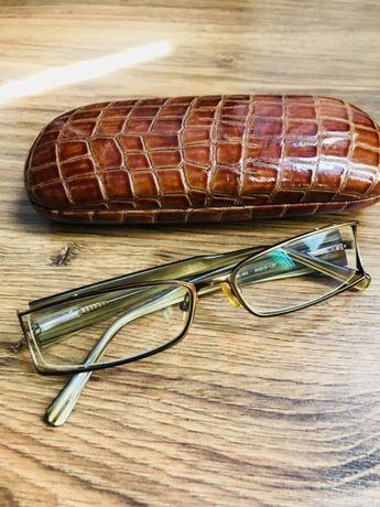 Oprawki okulary plus etui-bardzo wlegancki komplet