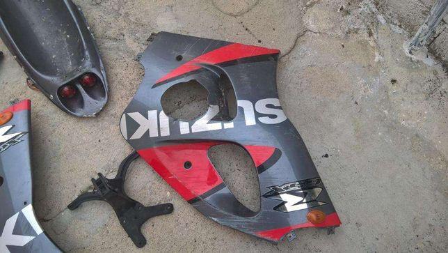 Plasticos /carenagens/peças Suzuki gsxr srad 600 / 750