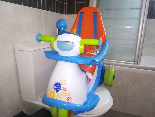 Carro mota chicco bebe