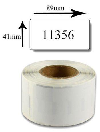 Rolo de Etiquetas (41x89mm) 11356 para impressoras Dymo LabelWriter