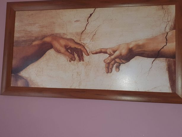 Reprodukcja Leonardo da Vinci 110 na 60 cm