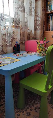 Стол со стульями Маммут
