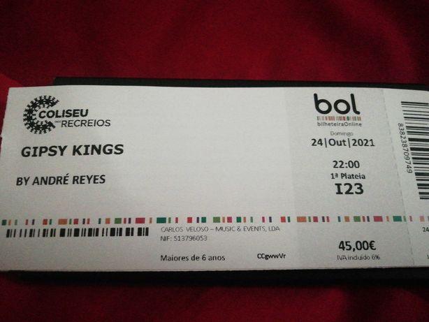 Bilhetes Gipsy Kings