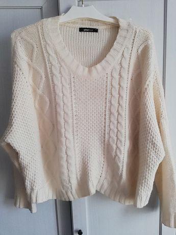 Sweter swetr ciepły Ginatricot roz. 38 M 40L