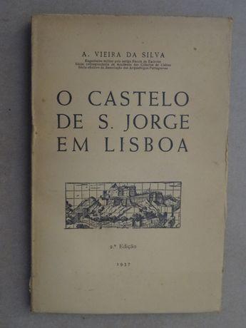 O Castelo de São Jorge em Lisboa de A. Vieira da Silva