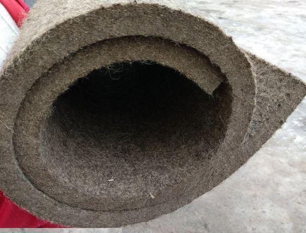 Фетр жесткий плотный (станочный) для уплотнений толщиной 2-50мм