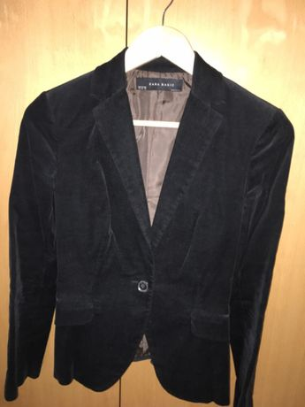 Blazer preto, tamanho XS, Zara