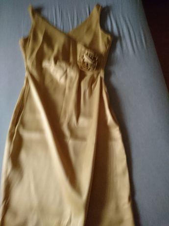 Złota sukienka rozmiar S.