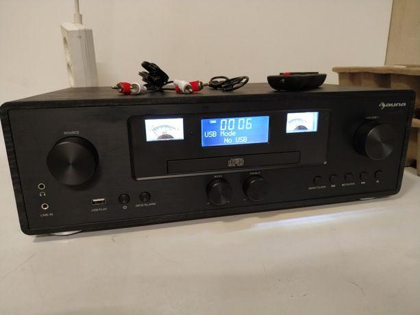 Northfork, radio w stylu retro, odtwarzacz CD, Bluetooth, DAB+, UKF, ł