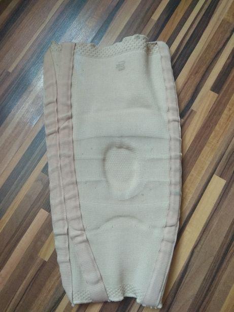 Opaska elastyczna z szynami uciskowa na kolano orteza stabilizator L