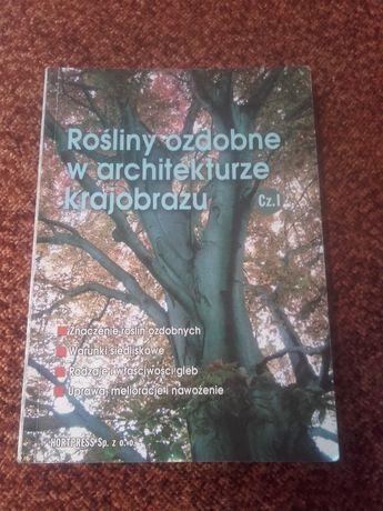 książka rośliny ozdobne w architekturze krajobrazu.