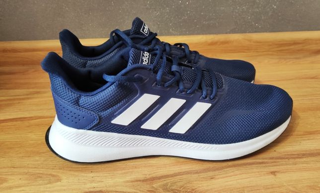 Buty sportowe męskie Adidas Performance RUNFALCON dark blue 46
