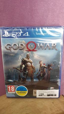 God of War PS4 PS5 новый