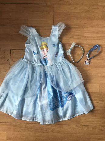 H&m sukienka kostium strój Kopciuszka kopciuszek 134