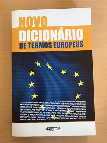 Novo Dicionário de Termos Europeus (portes grátis)