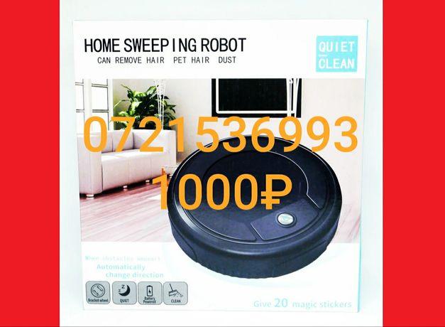 Робот  пылесос home sweep  1000₽