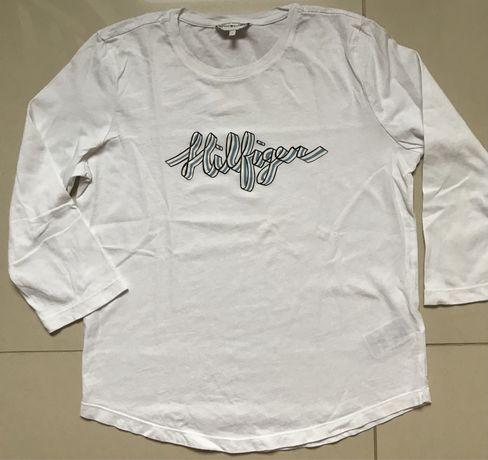 Biały T-shirt Tommy Hilfiger roz S