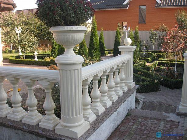 Балясины, балюстрады, колонны