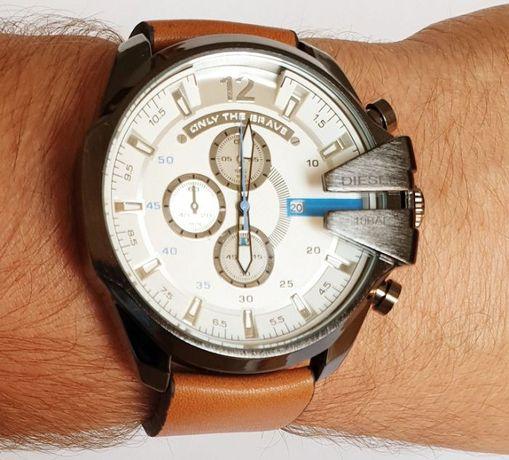 Zegarek DIESEL DZ 4280 na pasku-nowy, gwarancja