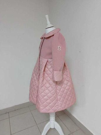 Весняне, неймовірно красиве пальто для дівчинки/детское пальто, 6-8 р.
