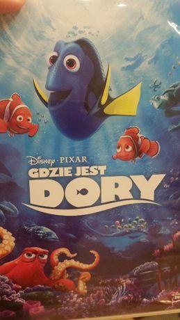 Gdzie jest Dory.Ogl. 1 raz.Wymienię na książkę dla dziewczynki 11 lat.