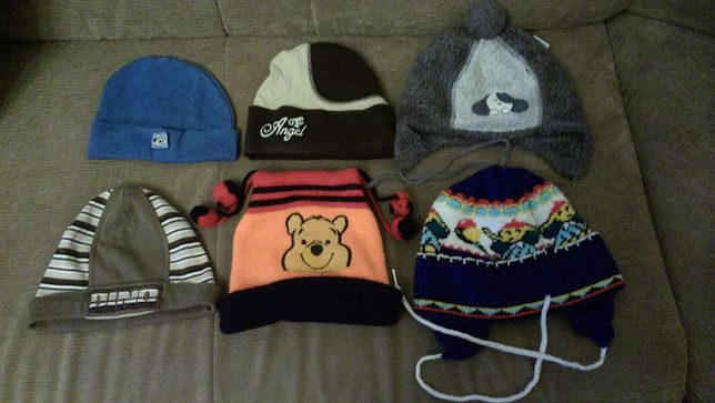 Детские осенне-весенние, зимние шапки