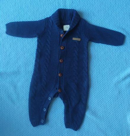 Kombinezon sweterkowy dla chłopca wiosenny jesienny cool club r. 62