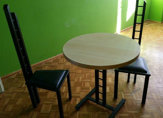 Stół + 2 krzesza loftowe