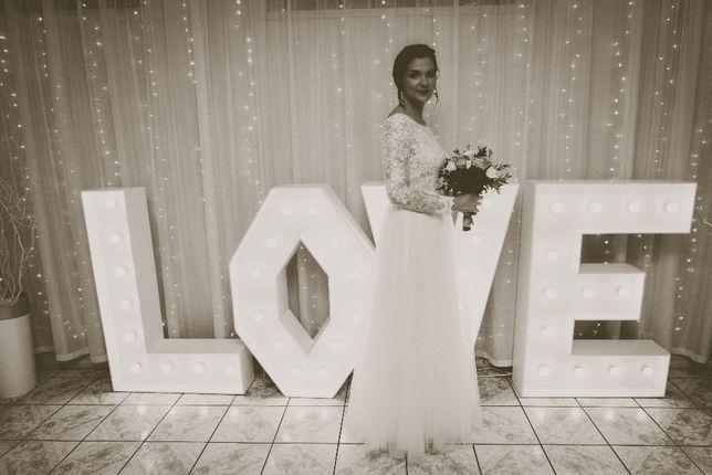 Suknia ślubna Amy Love Bridal 185 dla wysokich