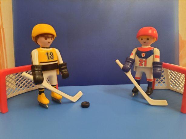 """Playmobil 5993 walizka, box """"Hokej na lodzie 3 w 1"""""""