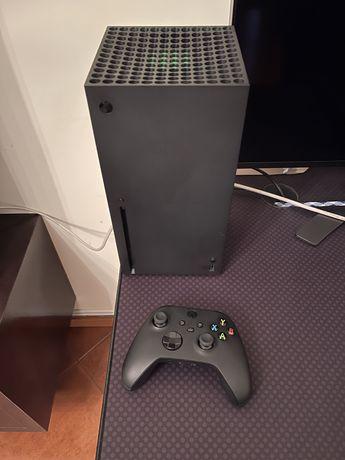 Xbox series x mais comando original