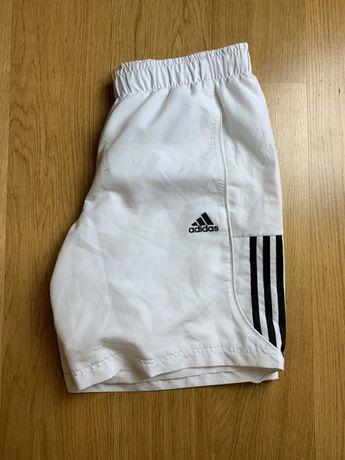 Spodenki Adidas krótkie, białe M