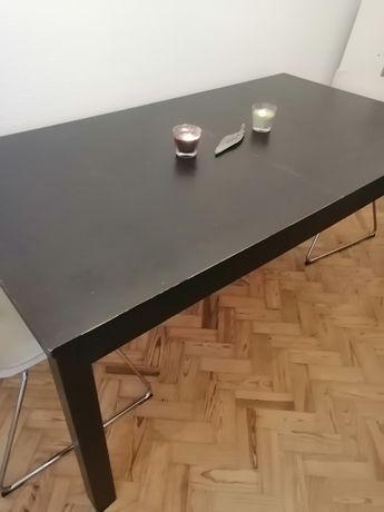 Mesa pinho extensível usada ikea