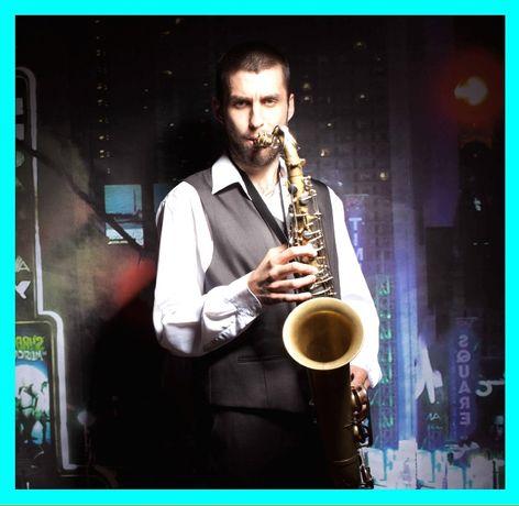 Саксофоніст на Ваше свято чи захід. Музикант. Жива музика. Красилів.