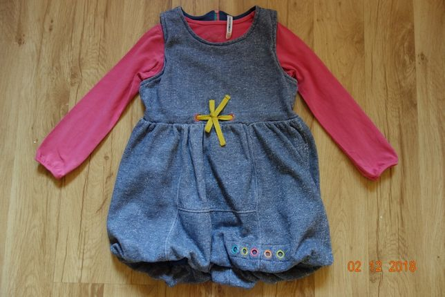 Sukienka bluzka komplet Coccodrillo rozmiar 104