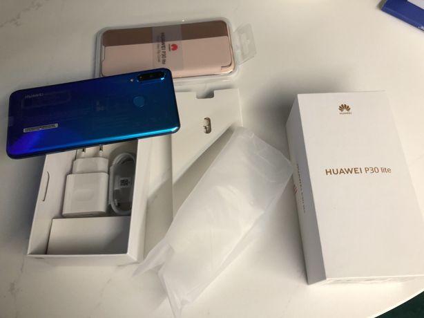 Nowy Huawei p30 lite 128GB niebieski + etui