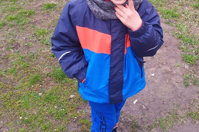 Термо куртка на мальчика состояние идеальное