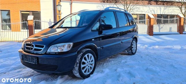 Opel Zafira Sprowadzony z Niemiec, 1.8 Benzyna 125 KM, Klimatronic,