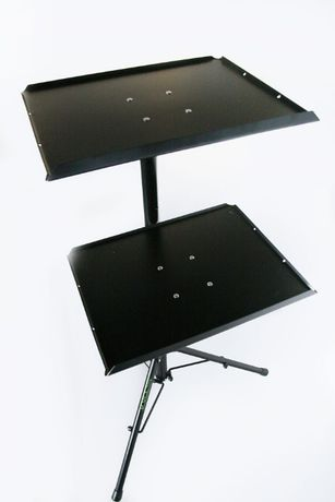 Profesjonalny statyw na dwa laptopy - na laptopa i mixer lub projektor