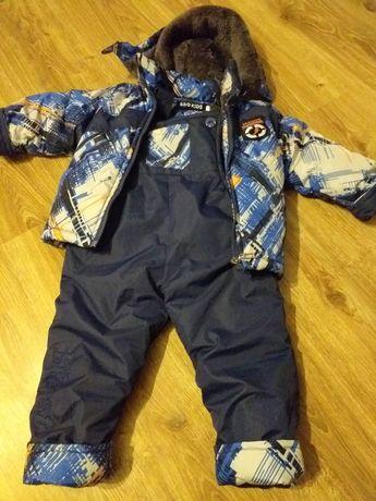 Kurtka i spodnie zimowe dla chłopca