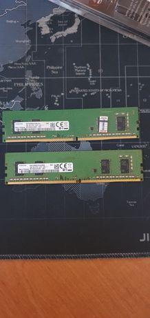 Оперативна пам'ять Samsung DDR4 2400 4Gb(дві плашки по 4Gb)