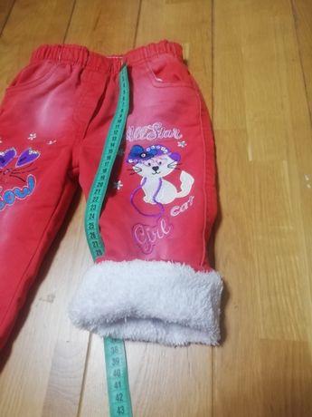 Тёплые лосинки и штаны